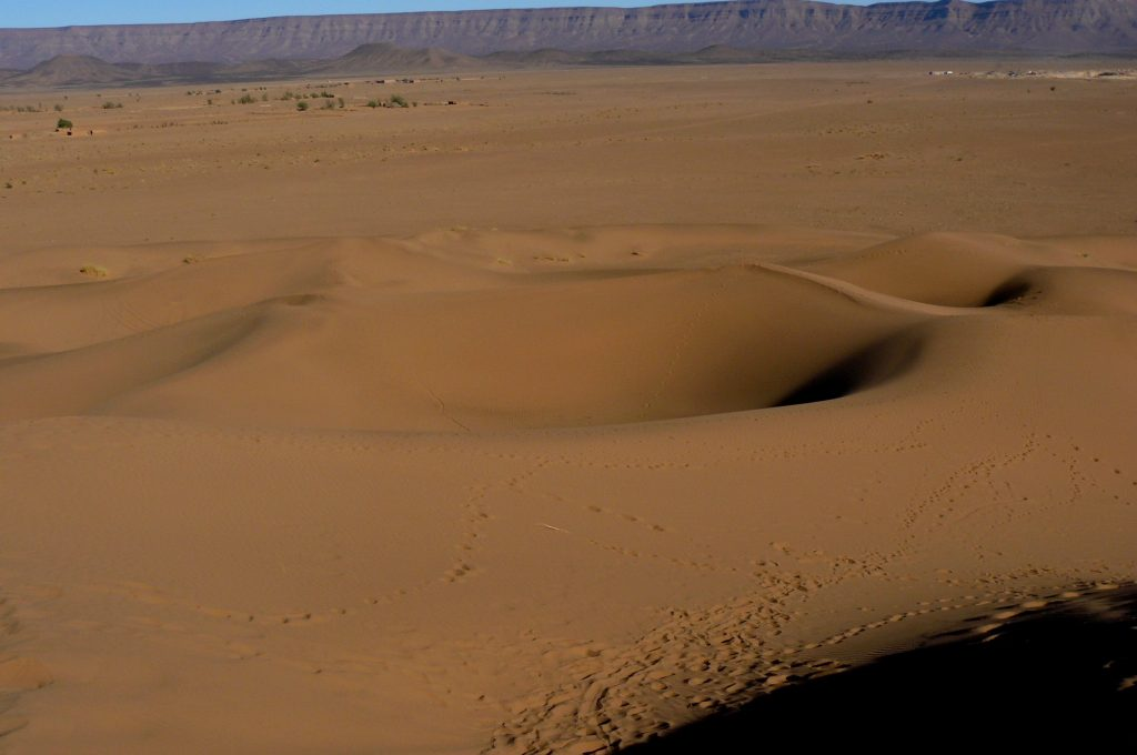 el clima hace al desierto